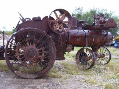 Rumely Tractor