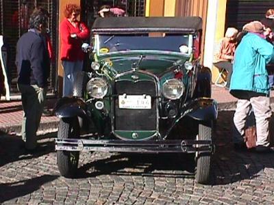 Classic Car Show San Telmo