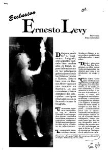 Ernesto Levy Artist Argentina
