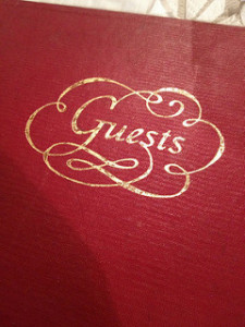 Far Horizon Guest Book