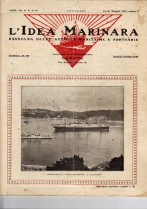 Article from L'idea Marinara written by Tomssaso Gropallo 1927