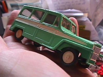 Estanciera Willy Jeep Station Wagon by Buby