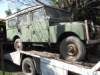 Land Rover 1957 Repair and Export from Argentina