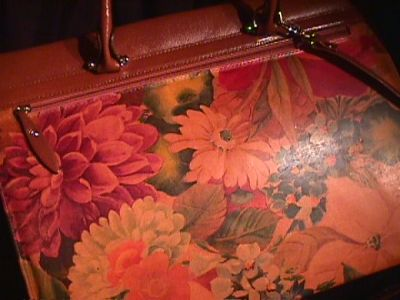 Item 456 Description of hand bag.  Leather Hand Bags made in Argentina