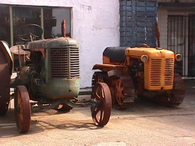 Cars and Old Tractors found in Uruguay